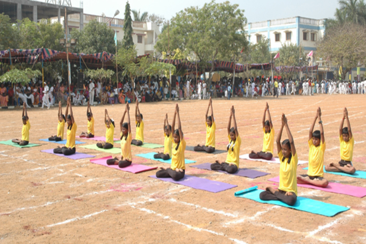 Sri Venkateswara Matriculation Higher Secondary School-Yoga
