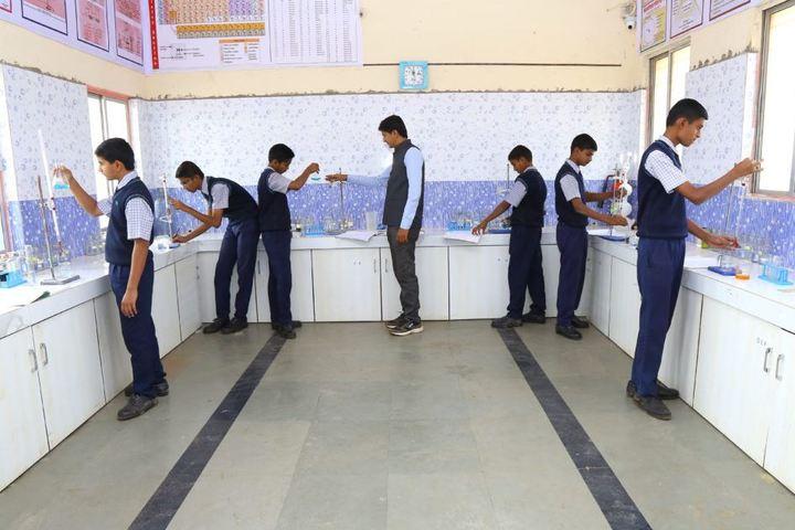 Adarsh Gurukul Academy-Chemistry Lab