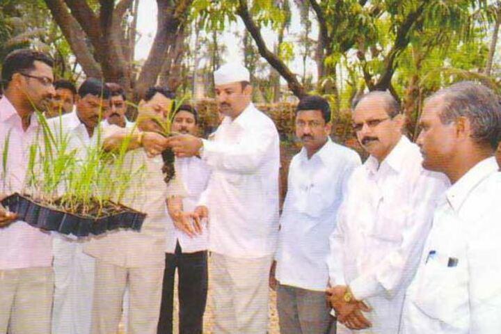 Bhogavati High School-Tree Plantation