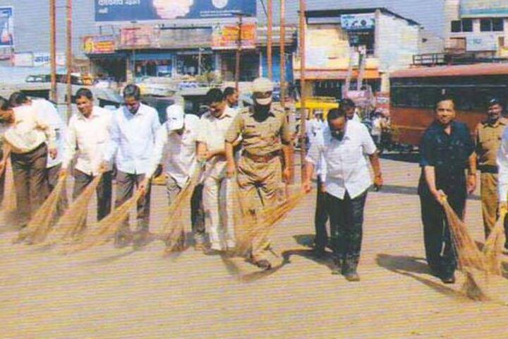 Bhogavati High School-Swachh Bharat