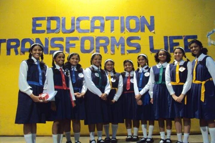 Holy Cross Convent High School-Students