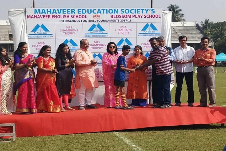 Mahaveer English School-Award
