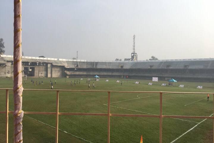 Mahaveer English School-Play Ground