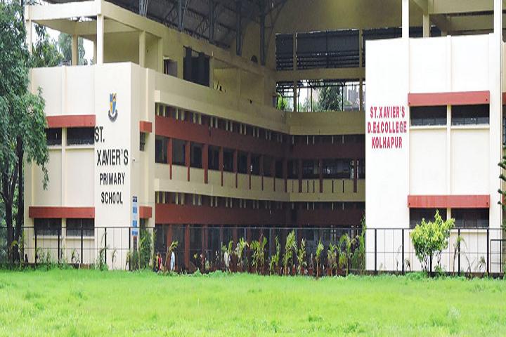St Xaviers School-Front View