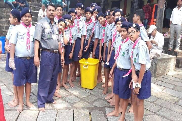 St Xaviers School-Swatch Bharat