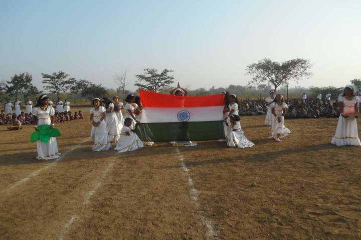 Shanti English Medium School and Shanti Junior College Of Science-Republic Day