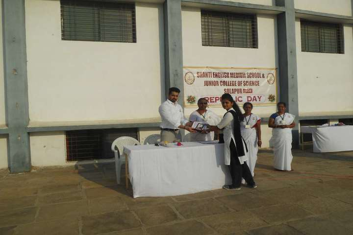Shanti English Medium School and Shanti Junior College Of Science-Student Award