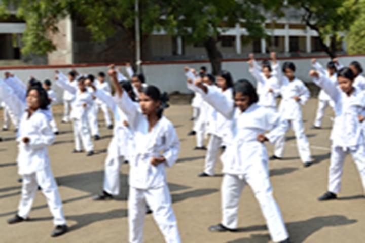 Police Public School-Karate