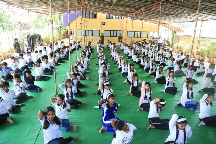 Holy Flower English High School-Yoga