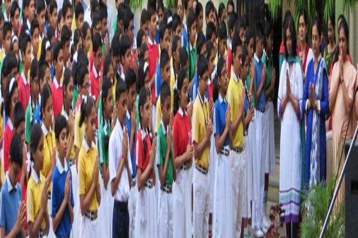 KK Wagh Secondary School and Junior College-Prayer