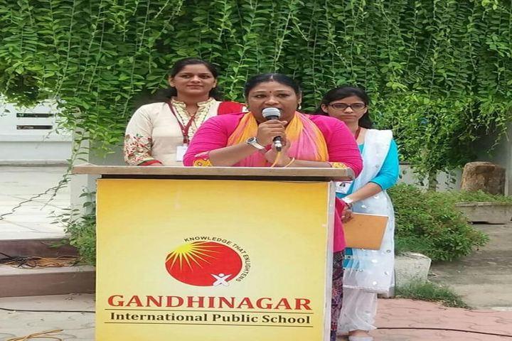 Gandhinagar International Public School-Speech