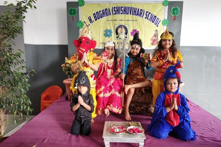 LH Boghra School-Festival Celebration