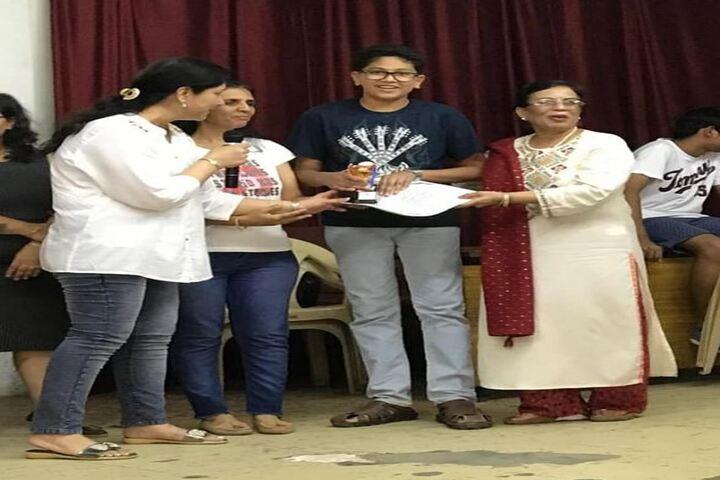 Navjeena High School-Award