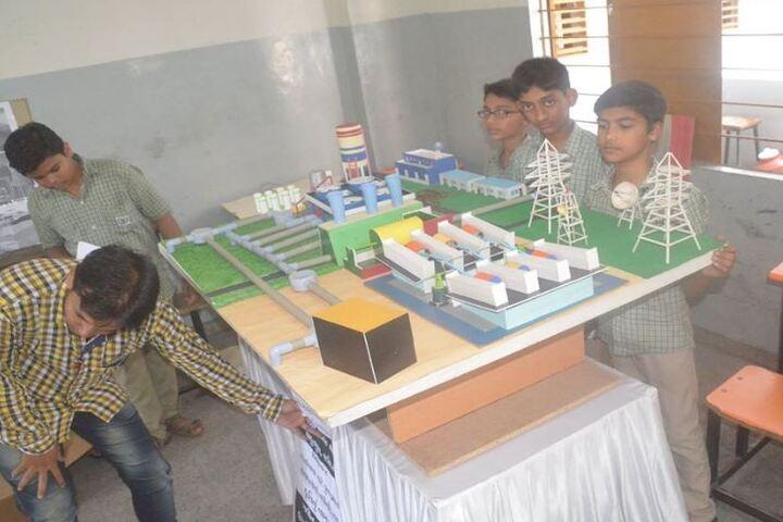 Navjeena High School-Exhibition