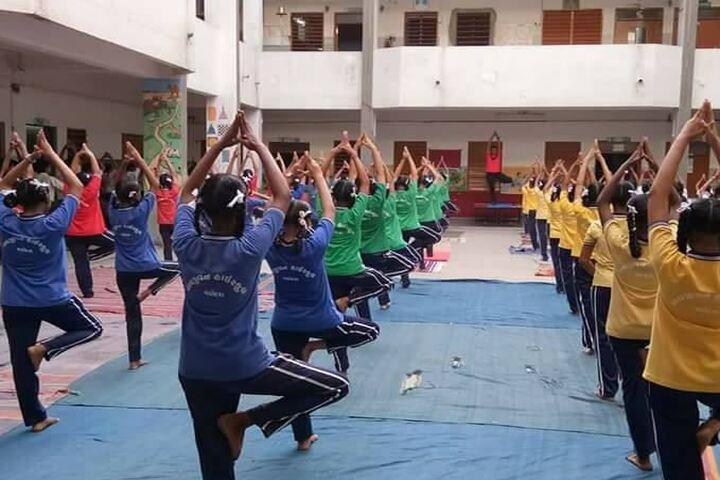 Navjeena High School-Yoga
