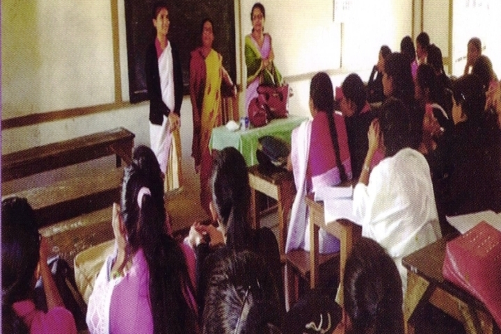 Tarini Choudhury Government Girls Higher Secondary School-Class Room