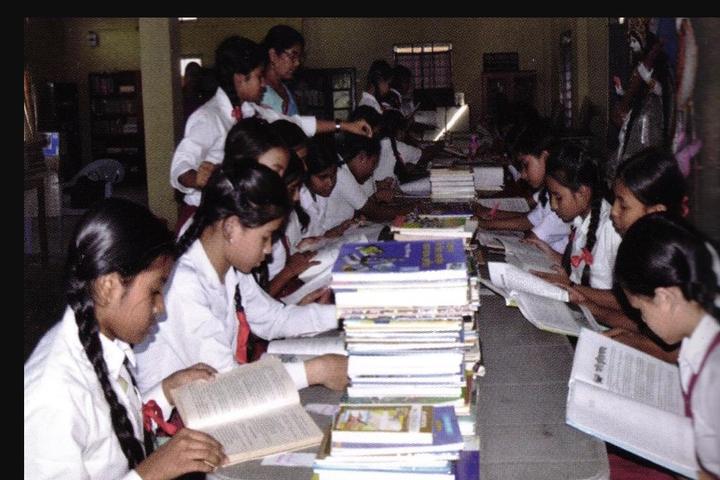 Tarini Choudhury Government Girls Higher Secondary School-Library