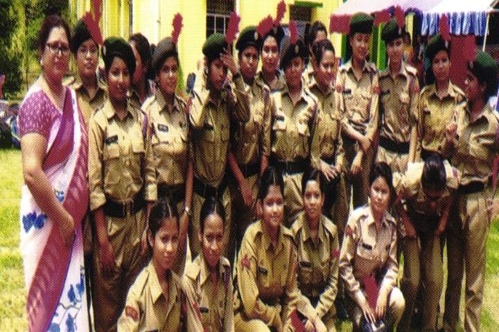 Tarini Choudhury Government Girls Higher Secondary School-NCC