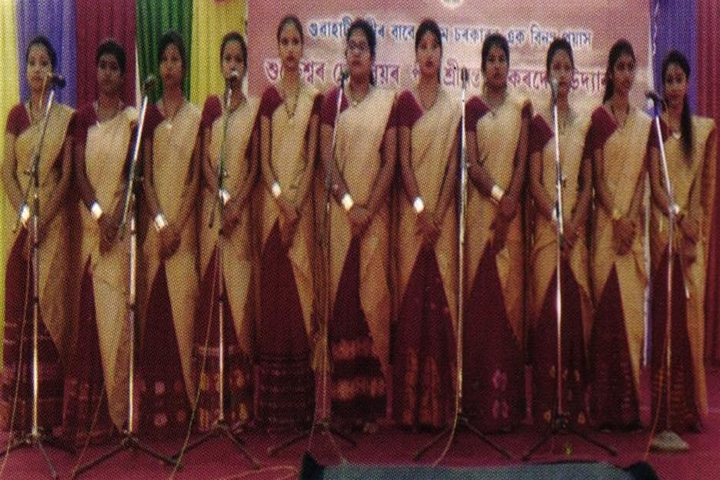 Tarini Choudhury Government Girls Higher Secondary School-Singing