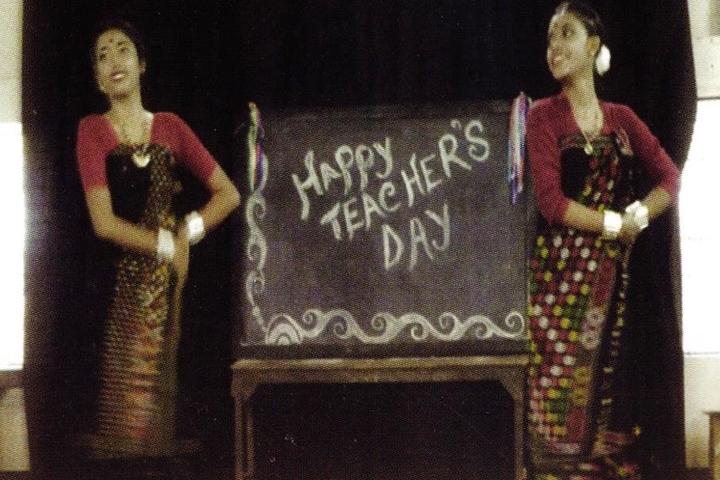 Tarini Choudhury Government Girls Higher Secondary School-Teachers Day