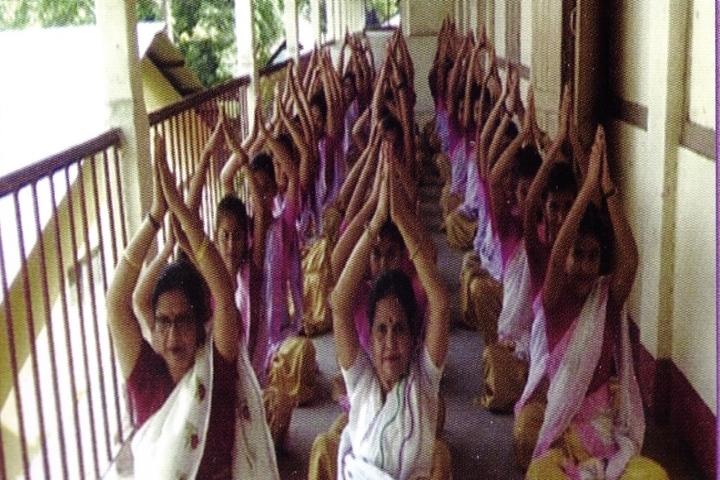Tarini Choudhury Government Girls Higher Secondary School-Yoga