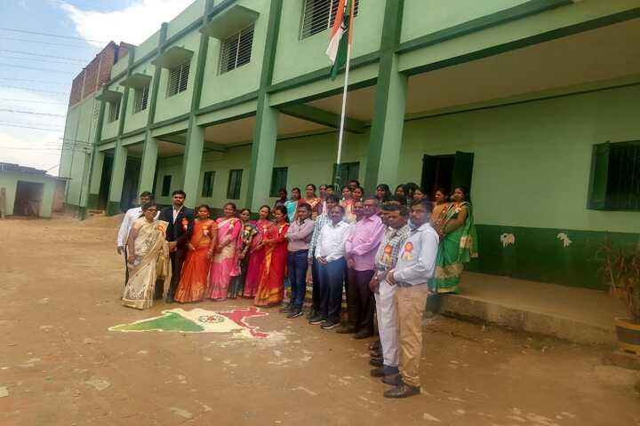 Swarna Rekha Public School-Flag Hosting