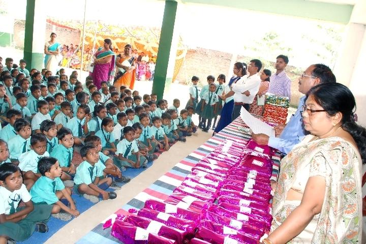 Swarna Rekha Public School-Gift Distribution