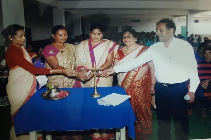 Swarna Rekha Public School-Lighting the Lamp