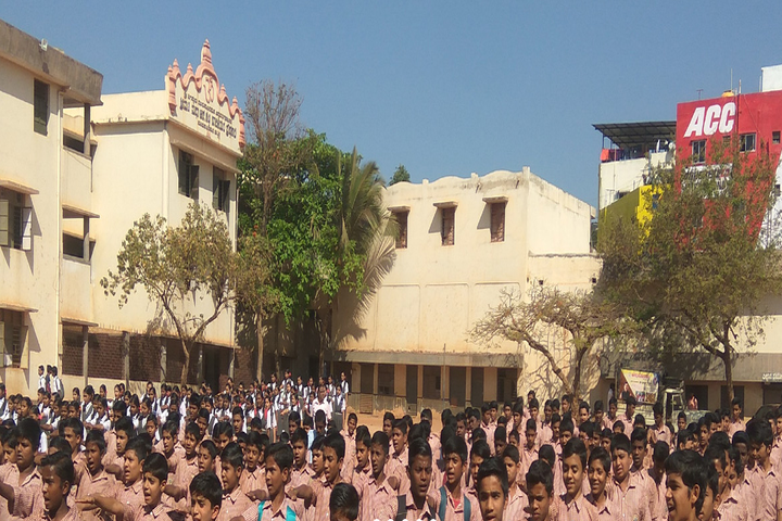 Shri Jagadguru Gangadhar High School-Assembly