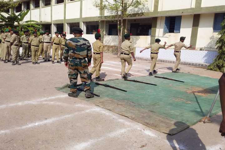 Shri Jagadguru Gangadhar High School-NCC
