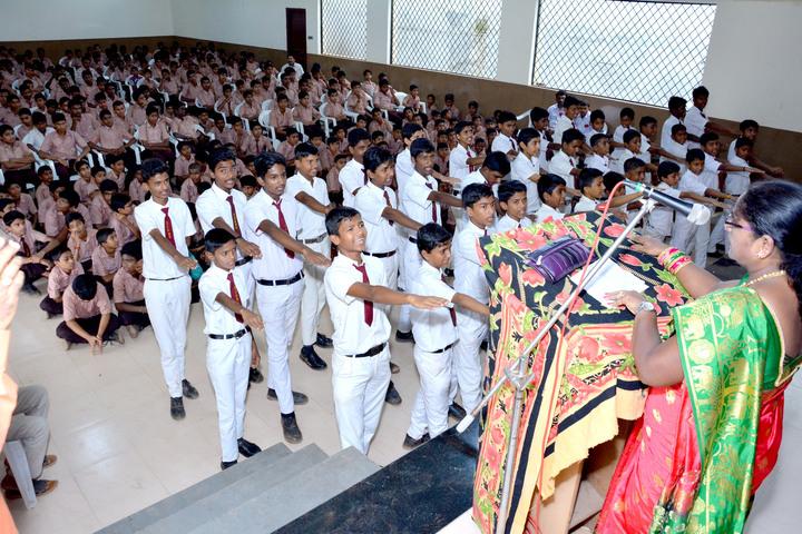 Shri Jagadguru Gangadhar High School-Pledge