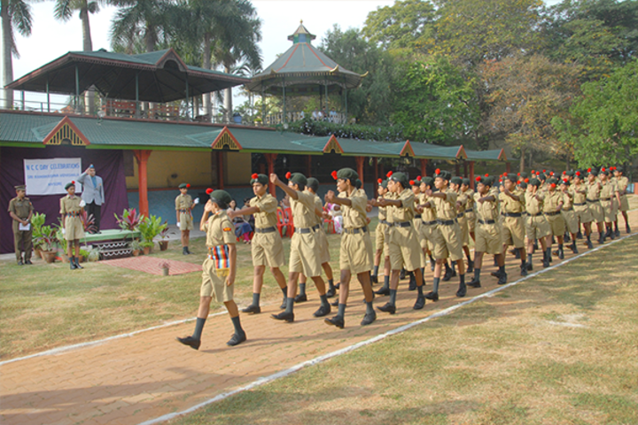 Sri Ramakrishna Vidyashala-NCC
