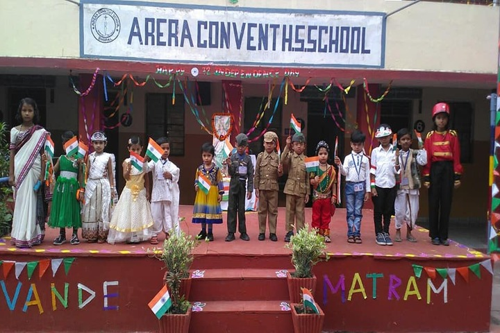 Arera Convent Higher Secondary School-Republic Day