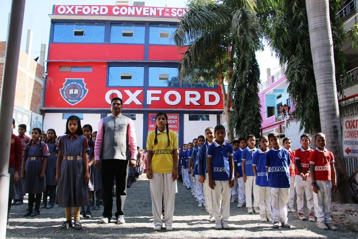Oxford Convent Higher Secondary School-Assembly