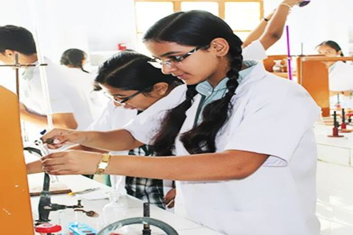 Oxford Convent Higher Secondary School-Chemistry-Lab