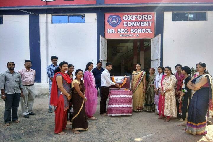 Oxford Convent Higher Secondary School-Teachers Day