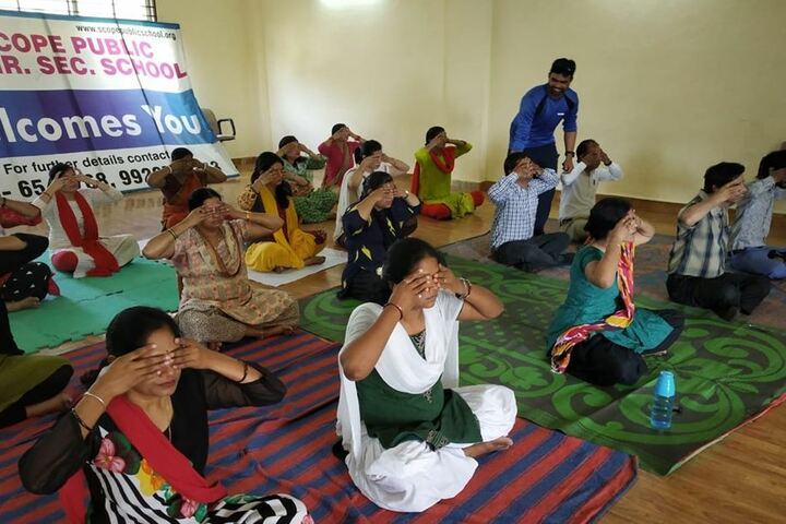 Scope Public Higher Secondary School-Yoga
