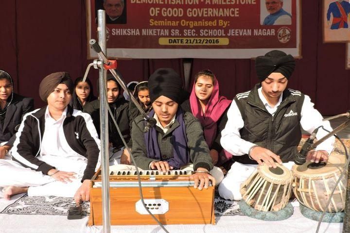 Shiksha Niketan Senior Secondary School-Music Competition