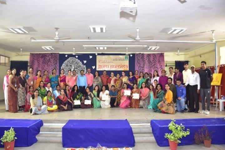 Navrachana Vidyani Vidualaya School-Guru Purnima