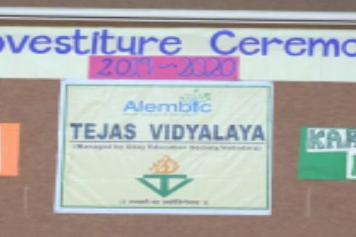 Tejas Vidyalaya-Investiture Ceremony