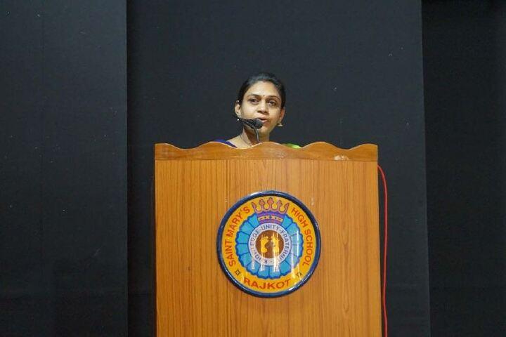 Saint Marys High School-Guest Speech