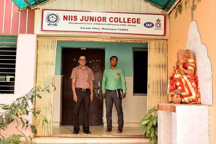 NIIS Higher Secondary School-Entrance