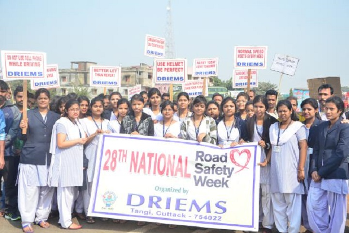 DRIEMS Science College-National Road Saftey