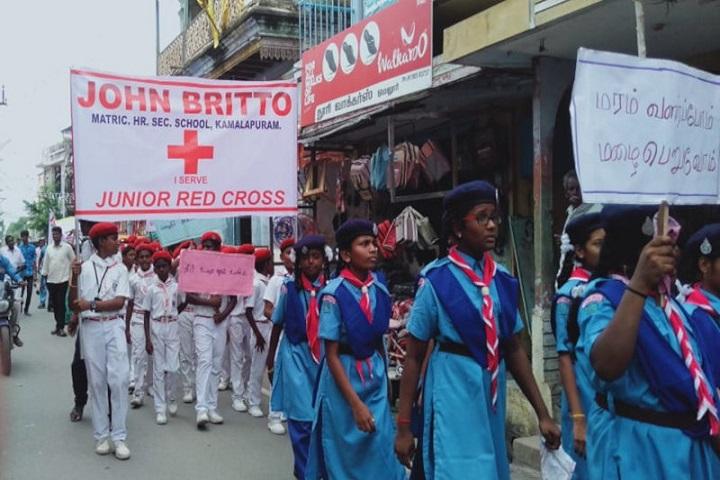 John Britto Matric Higher Secondary School-Swatch Bharath