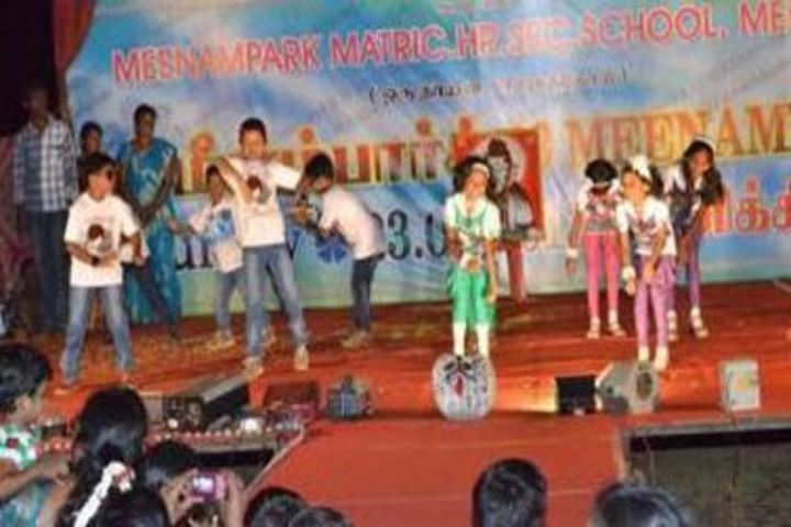 Meenampark Matriculation Higher Secondary School-Annual Day