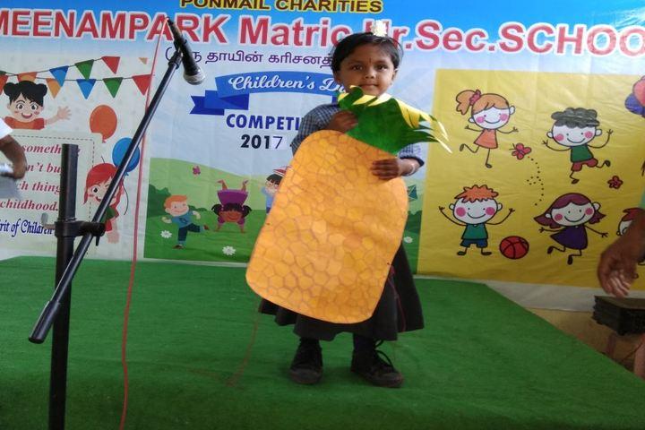 Meenampark Matriculation Higher Secondary School-Childrens Day