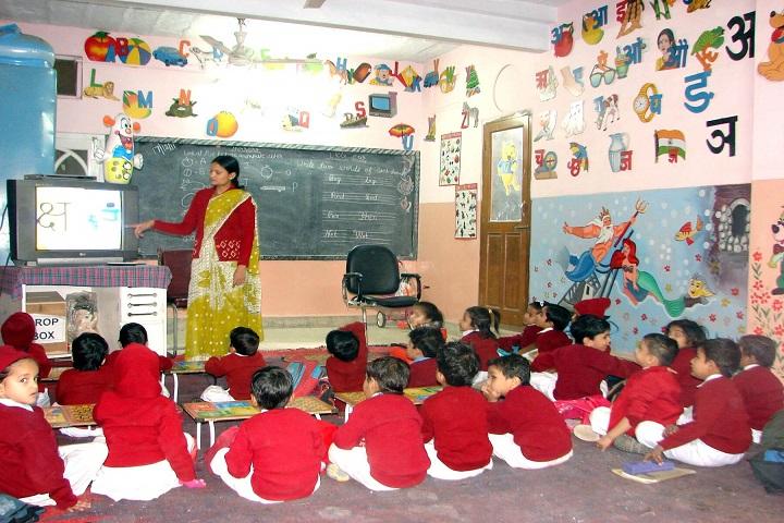 Pink Model School-Classroom