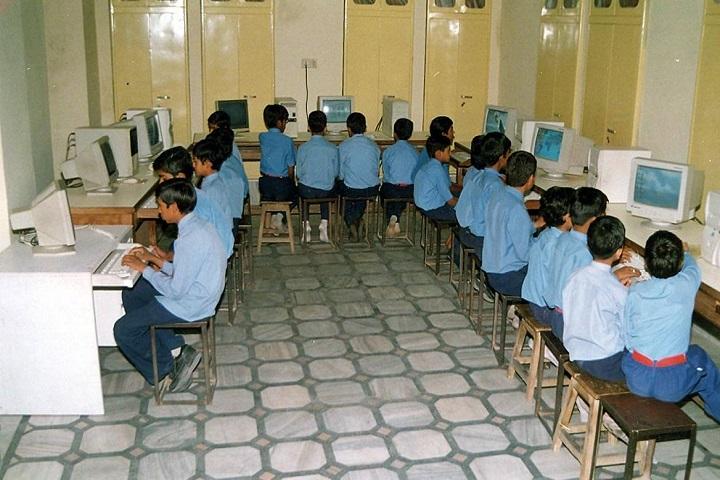 Pink Model School-Computer lab