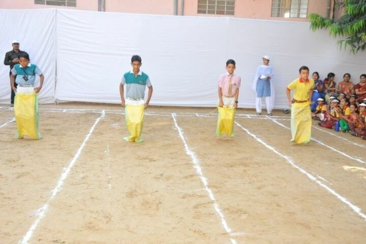 Kids Care International School-Sports Day