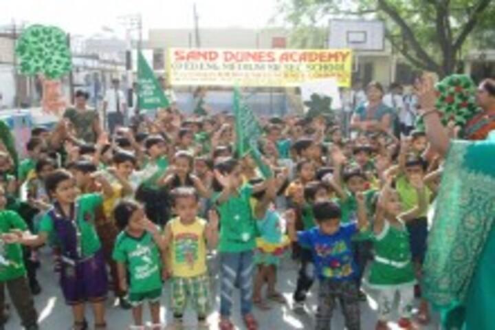 Sand Dunes Academy Senior Secondary School-Earth Day